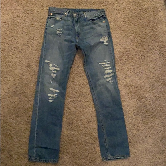 Levi Strauss 508 Distressed Jeans